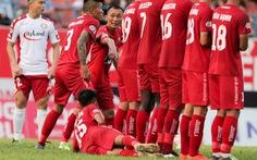 Cầu thủ Hải Phòng học sao bóng đá thế giới cách cản đá phạt