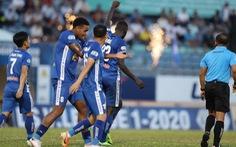 'Ngoại binh' Kebe tỏa sáng giúp Quảng Nam giành 3 điểm đầu tiên