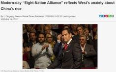 Báo Trung Quốc cười cợt 'liên minh 8 nước' đối phó Bắc Kinh