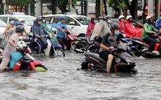 Tháng 4-2021, 'rốn ngập' ở đường Nguyễn Hữu Cảnh hết ngập?