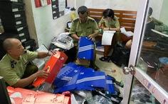 Hơn 5.000 sản phẩm giả thương hiệu Adidas, Nike... bị tạm giữ
