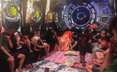 Đột kích quán karaoke, test nhanh phát hiện 68 thanh niên chơi ma túy