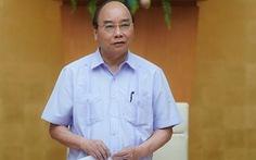Thủ tướng chủ trì họp bàn về mở đường bay quốc tế trở lại
