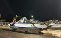Một người tắm biển chết sau va chạm với xuồng cao tốc của cảnh sát đường thủy