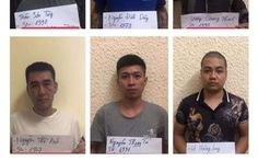 Bắt 6 nghi phạm trong đường dây trộm cắp, tiêu thụ phụ tùng ôtô