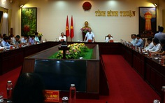 Thường trực Ban Bí thư: Bình Thuận không được chủ quan trong mọi tình huống