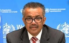 Tổng giám đốc WHO khóc tại họp báo, kêu gọi đoàn kết chống COVID-19