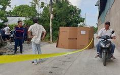 Nam công nhân rơi hàng chục mét  từ mái nhà máy nước giải khát xuống đất