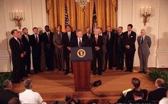 Xem lại clip Tổng thống Bill Clinton tuyên bố bình thường hóa quan hệ Mỹ - Việt