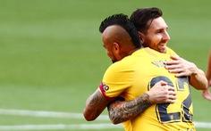 Thắng chật vật Valladolid, Barca tiếp tục bám đuổi Real Madrid