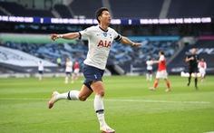 Son Heung-Min 'nổ súng', Tottenham thắng ngược Arsenal trong trận derby London