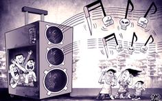 Một nghị quyết về karaoke, loa thùng và loa kẹo kéo!