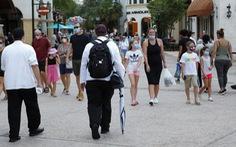 Tâm dịch mới Florida của Mỹ tăng sốc: 15.300 ca COVID-19 trong 24 giờ