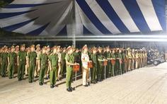 Công an TP.HCM ra quân đợt cao điểm trấn áp tội phạm