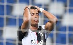 Ronaldo 'tịt ngòi', Juventus đánh rơi chiến thắng trước Sassuolo dù dẫn trước 2-0
