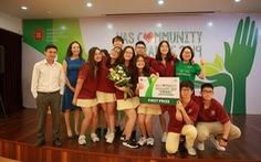 Phát triển năng khiếu và trách nhiệm cộng đồng cho học sinh với các hoạt động tại VAS