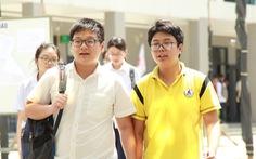 Hà Nội: Buổi thi đầu tiên, 3 học sinh vi phạm quy chế