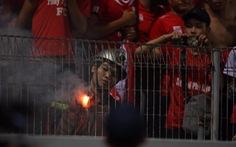 HLV Hải Phòng khen Hà Nội FC kiểm soát tốt pháo sáng từ CĐV đất cảng