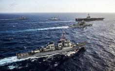Nỗ lực chung kìm Trung Quốc ở Biển Đông