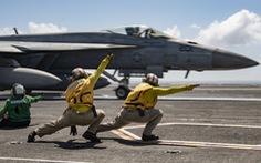 Mỹ điều tàu sân bay 'diễn tập chất lượng cao' phòng bất ngờ ở Biển Đông từ 17-7