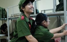 Hơn 100 bạn nhỏ học làm chiến sĩ công an