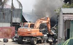 Vụ cháy kho hóa chất ở Long Biên: Có dấu hiệu sản xuất hóa chất 'chui'