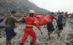 Sạt lở mỏ ngọc bích ở Myanmar, 113 người chết