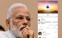 Thủ tướng Ấn Độ 'nghỉ chơi' mạng Weibo của Trung Quốc