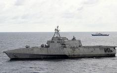 Tàu chiến Mỹ áp sát Hải Dương 4 ở Biển Đông, Bắc Kinh phản ứng ngay lập tức