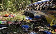 Kiến nghị thanh tra toàn diện công ty có xe khách rơi xuống vực làm 6 người chết