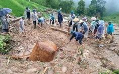 Chồng 'chết đứng' nhìn vợ con bị đất đá vùi lấp do mưa lớn ở Hà Giang
