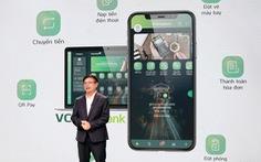 Nhiều người dùng thích thú với dịch vụ mới của Vietcombank