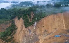10 triệu mét khối đất lở chặn nguyên một đoạn sông ở Trung Quốc