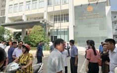 Cháy Chi cục Thuế TP Vinh, cả trăm người tháo chạy