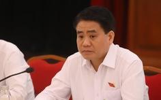 Tại sao Chủ tịch UBND TP Hà Nội Nguyễn Đức Chung bị tạm đình chỉ công tác?