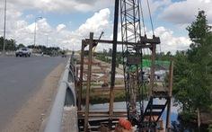 Xây cầu Cái Nhúc 2 mở rộng cửa ngõ thành phố Cà Mau