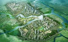 Nam Sài Gòn sắp có đô thị 349ha