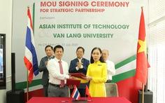 Đại học Văn Lang hợp tác chiến lược với Viện Công nghệ châu Á (AIT)