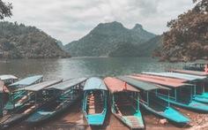 Tôi mê lắm màu áo xanh của hồ Ba Bể