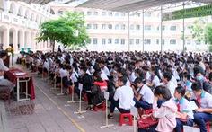 Hơn 12.000 thí sinh ở Cần Thơ thi tuyển vào lớp 10