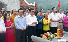 Tìm máu xương đồng đội ở chiến địa Vị Xuyên - Kỳ 3: Lời thề trên đá núi Vị Xuyên