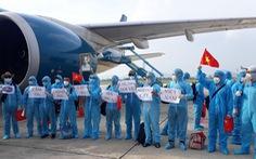 219 công dân từ Guinea Xích Đạo đã về đến khu cách ly