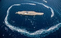 Iran dùng 'chiến thuật bầy sói' hạ gục 'tàu sân bay Mỹ' dễ như bỡn