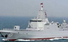 Trung Quốc tung clip khu trục hạm lớn nhất thế giới thử vũ khí hiện đại để làm gì?
