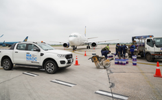 Vừa khởi công nâng cấp đường băng, sân bay Nội Bài đã bị 'tắc' 20 phút vì sự cố