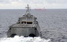 Tàu chiến Mỹ, tàu kiểm ngư Việt Nam, tàu Hải Dương 4 xuất hiện gần nhau ở Biển Đông