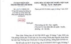 TP.HCM gửi công văn khẩn: Từ 0h sáng 31-7, cấm tụ tập quá 30 người, đóng cửa bar, vũ trường...