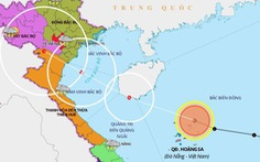 Áp thấp nhiệt đới khả năng thành bão trong 24 giờ tới, Bắc và Trung Bộ có mưa lớn
