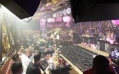 Trong 2 quán karaoke ở Bình Tân, gần nửa số người dương tính ma túy