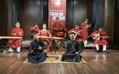 Nhóm nghệ sĩ khiếm thị chơi 'Sóng gió' bằng nhạc cụ dân tộc